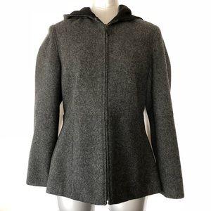 Esprit Zip-up Wool Coat